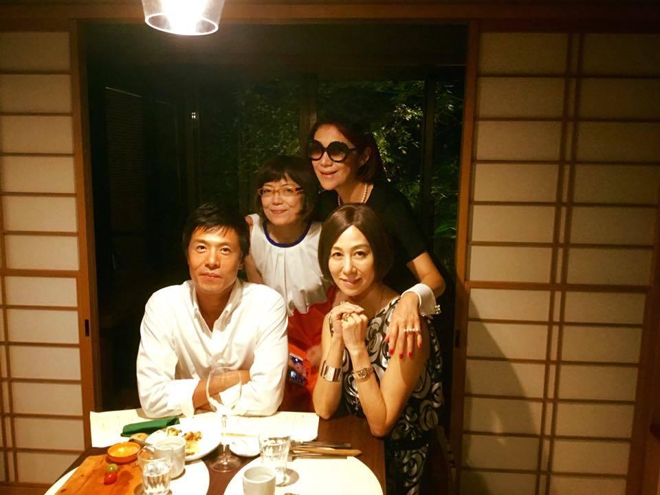花千代さんと神楽坂の隠れ家レストラン「メゾンドツユキ MAISON DE TSUYUKI」へ_a0138976_17121705.jpg