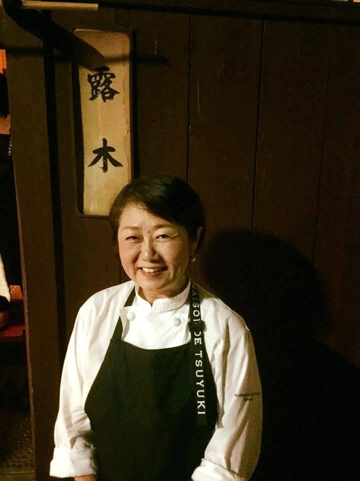 花千代さんと神楽坂の隠れ家レストラン「メゾンドツユキ MAISON DE TSUYUKI」へ_a0138976_17151817.jpg