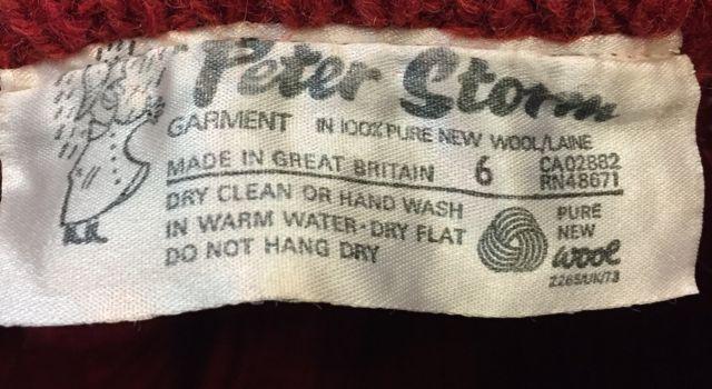 11月12日(土)入荷! Peter Storm  セーター Made in England_c0144020_14381393.jpg