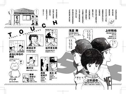 MFW「タッチ」あだち充:コミックスデザイン_f0233625_20321155.jpg