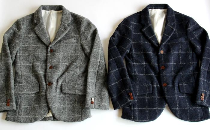 Milling Wool Knit 3B Jacket_e0142928_19532929.jpg