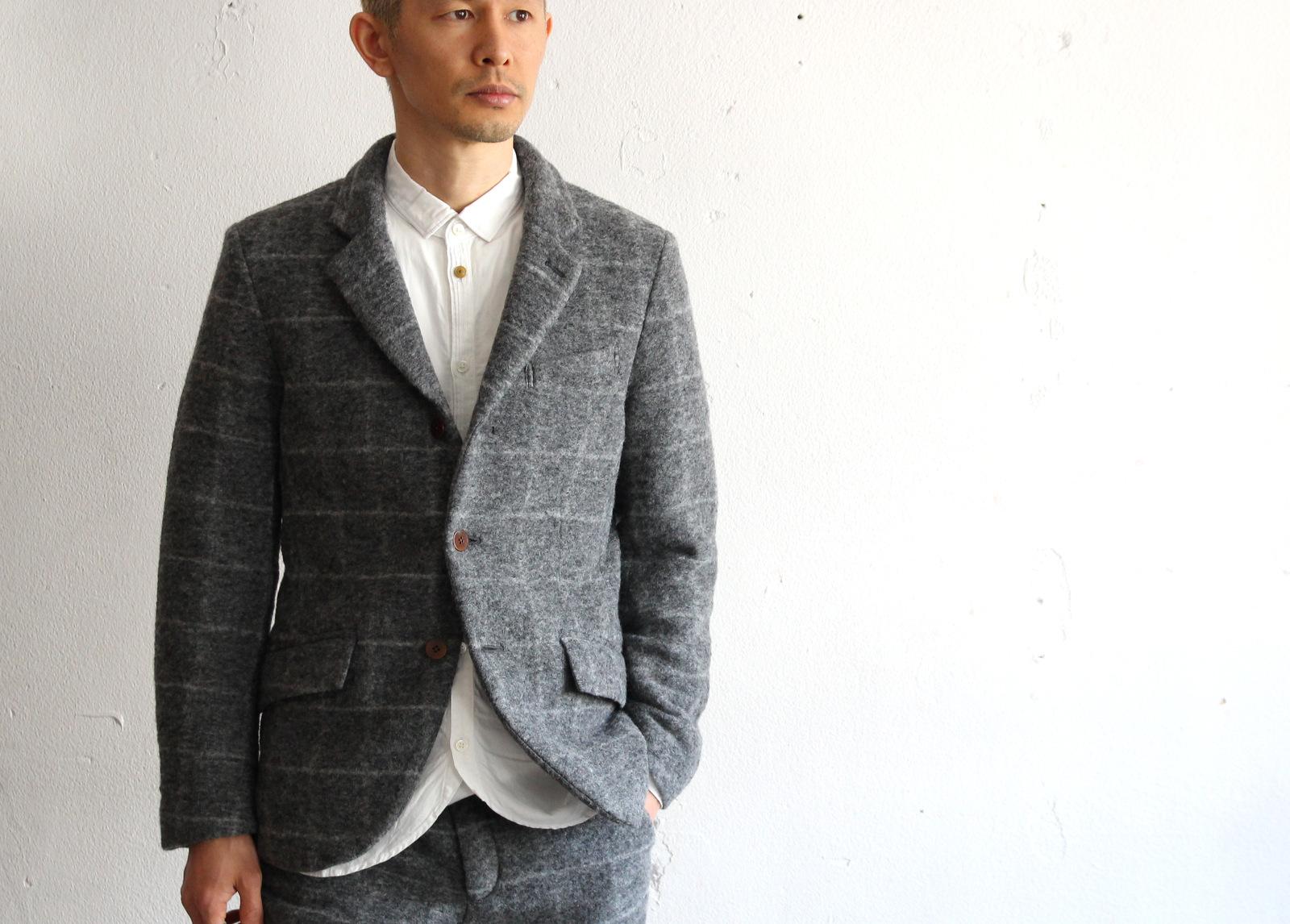 Milling Wool Knit 3B Jacket_e0142928_19585055.jpg