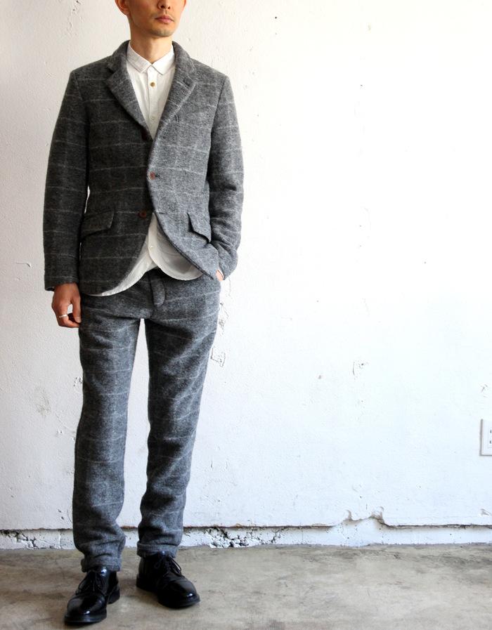 Milling Wool Knit 3B Jacket_e0142928_19592015.jpg