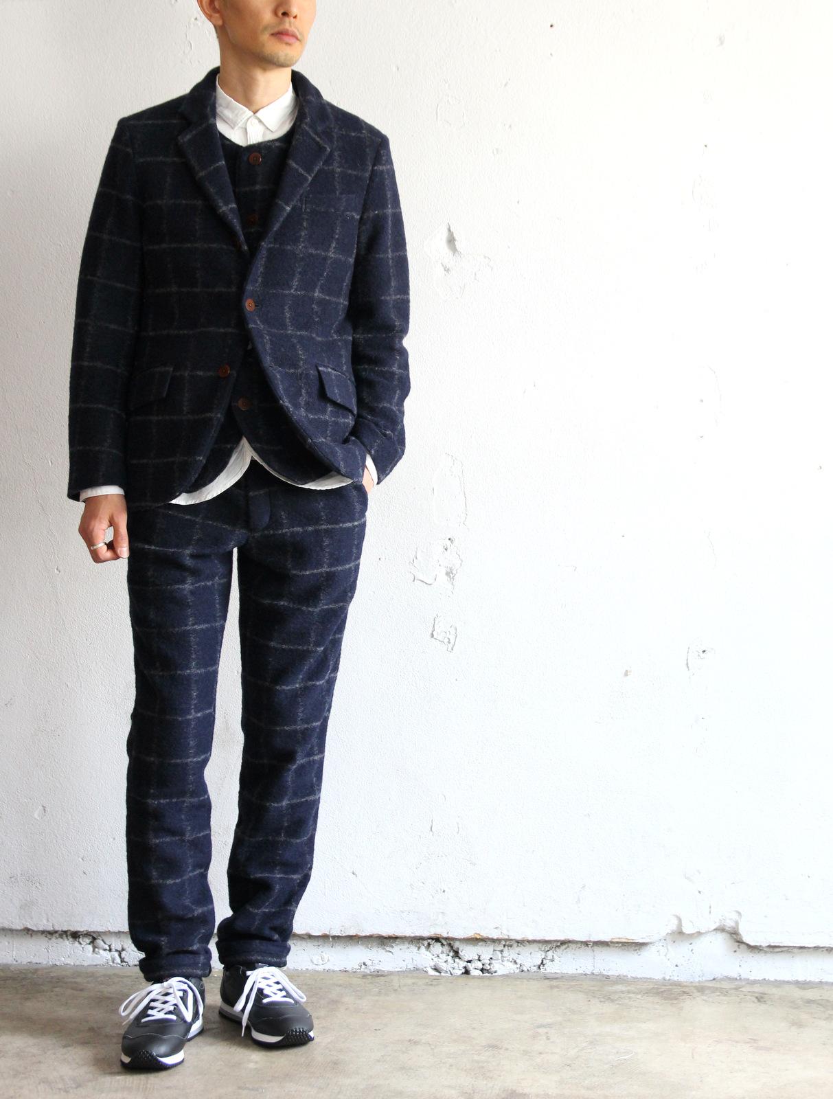 Milling Wool Knit 3B Jacket_e0142928_19595144.jpg