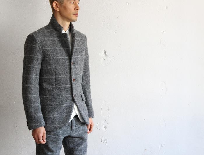 Milling Wool Knit 3B Jacket_e0142928_1959830.jpg