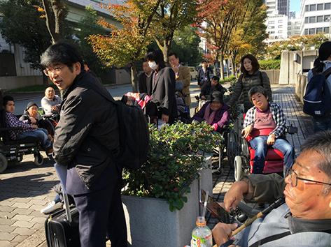 11/11京橋駅エレベーター訴訟第1回公判_c0167961_22172643.jpg