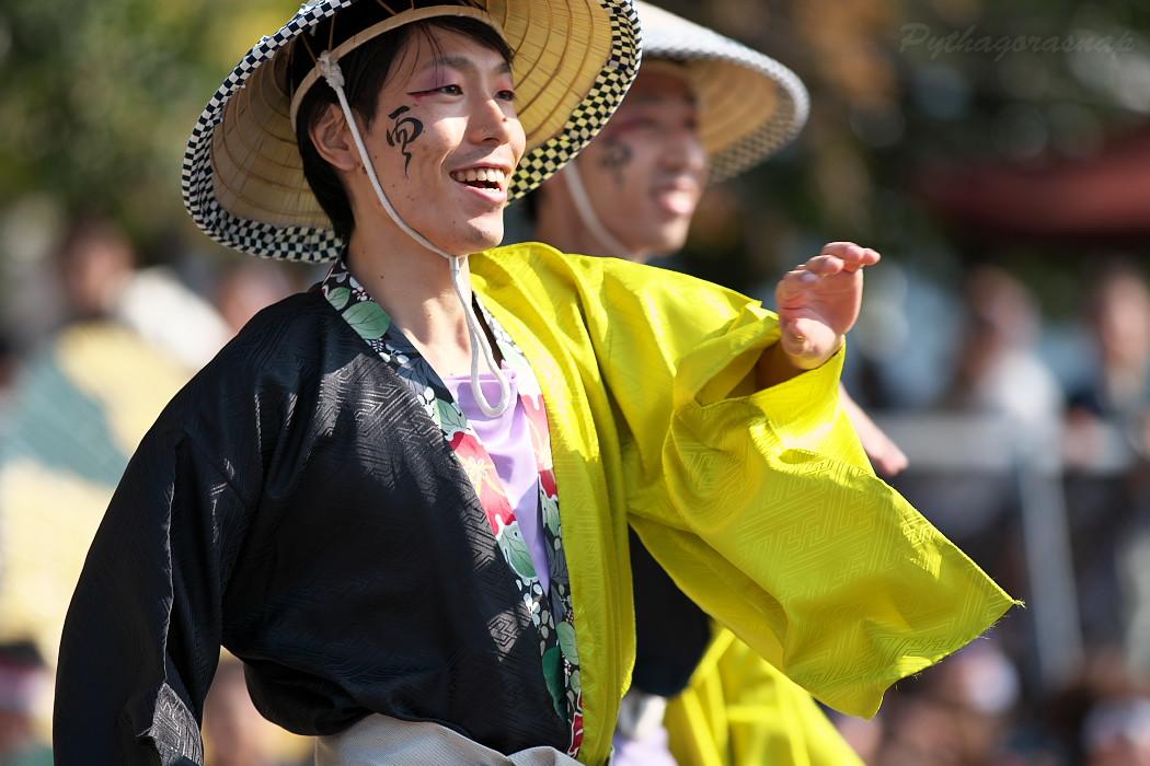 結 @ 豊明秋まつり 縁舞祭(えんぶさい)~乱舞フェスタ2016~_c0187584_2133142.jpg