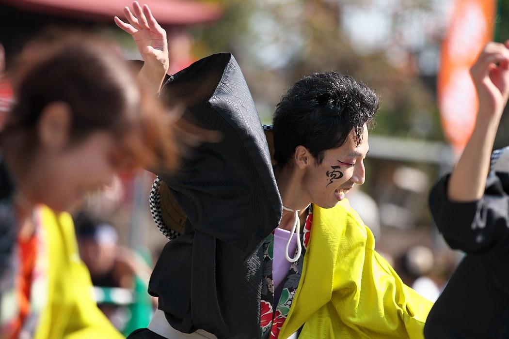 結 @ 豊明秋まつり 縁舞祭(えんぶさい)~乱舞フェスタ2016~_c0187584_21393881.jpg