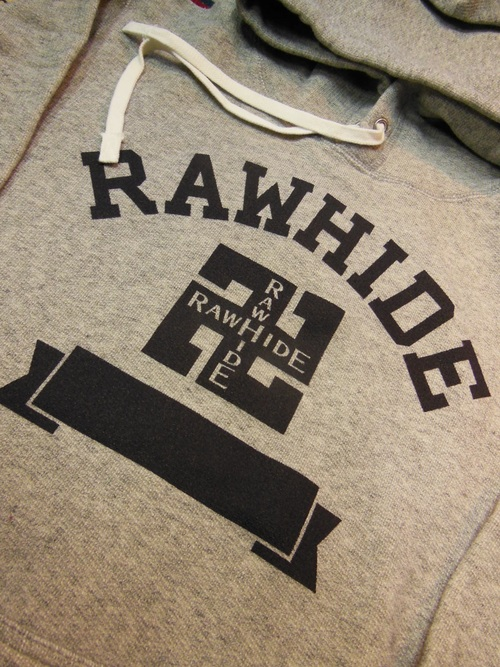 NEW RAWHIDE Whirling logs Tシャツ、パーカー入荷_c0187684_18411442.jpg