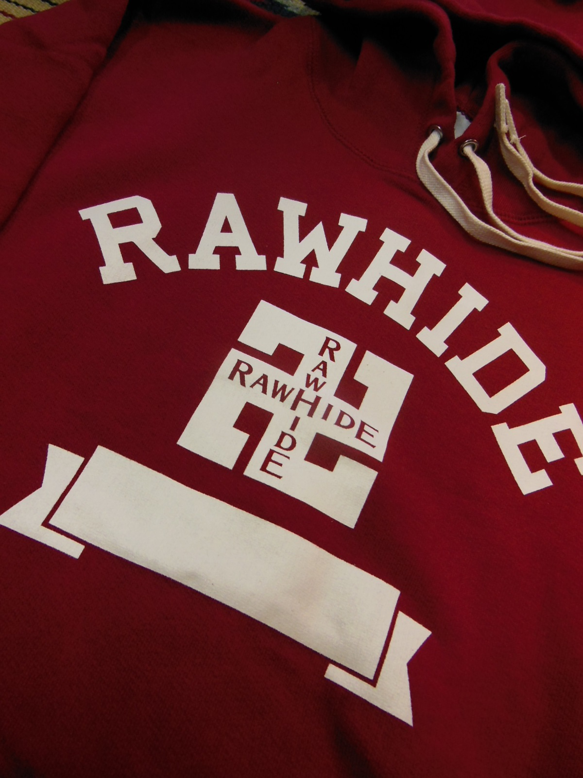 NEW RAWHIDE Whirling logs Tシャツ、パーカー入荷_c0187684_18413282.jpg