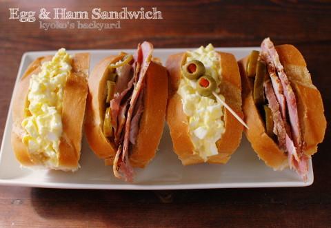 卵とハムのサンドイッチ。Sam\'s Clubにお得に復帰。_b0253205_05423914.jpg