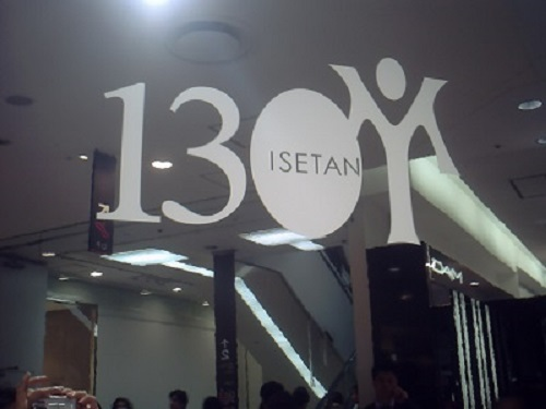 YUMINGと伊勢丹新宿店と130の出来事_a0116217_22242669.jpg