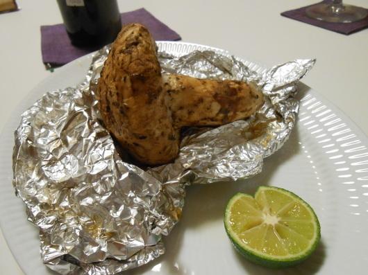 カナダ産の松茸を半額でゲット!_a0095931_12443347.jpg