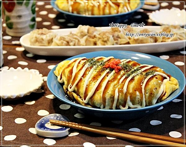 一口カツ弁当と玉子サンドとオム焼きそば♪_f0348032_17580639.jpg