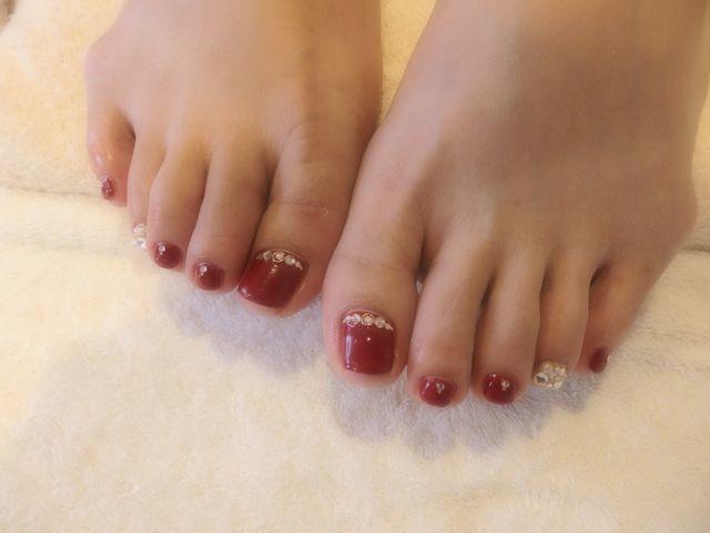 Red Foot Nail_a0239065_12493441.jpg