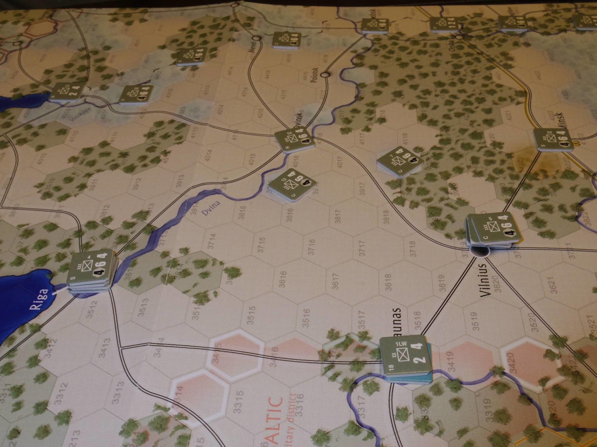 2年振りの再戦に備えて着々と準備は進む...(GMT)The Dark Valley  ダーク・ヴァレー 「バグラチオン:1944シナリオ」_b0173672_20582397.jpg