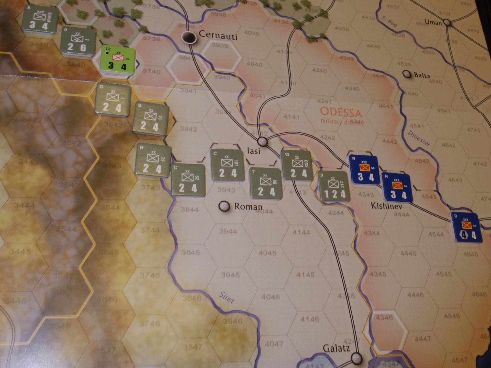 2年振りの再戦に備えて着々と準備は進む...(GMT)The Dark Valley  ダーク・ヴァレー 「バグラチオン:1944シナリオ」_b0173672_20582577.jpg