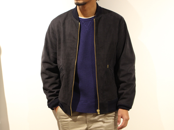 【RECOMMEND】 STANDARD CALIFORNIA - Nubuck Leather Jacket_a0076701_124938.jpg