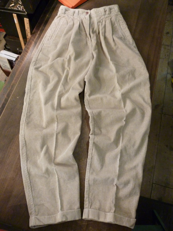 Corduroy Slacks/Denim Slacks ご紹介!_a0182112_203938.jpg