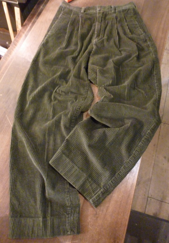 Corduroy Slacks/Denim Slacks ご紹介!_a0182112_2041185.jpg