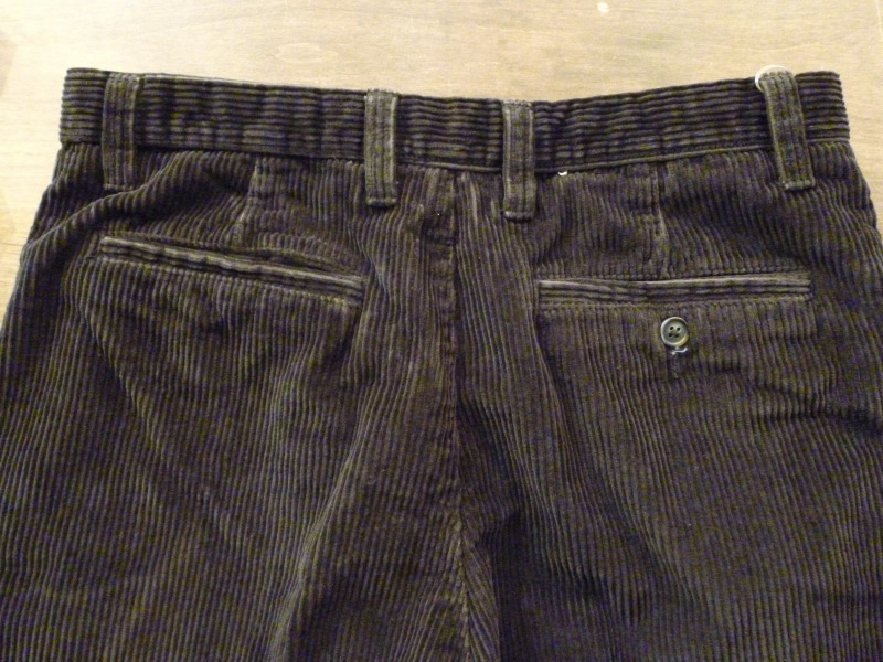 Corduroy Slacks/Denim Slacks ご紹介!_a0182112_2055216.jpg