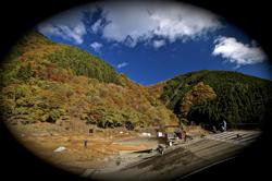 11月12日秩父紅葉ドライブ滝沢サイクルパークの風景_b0065730_11201417.jpg