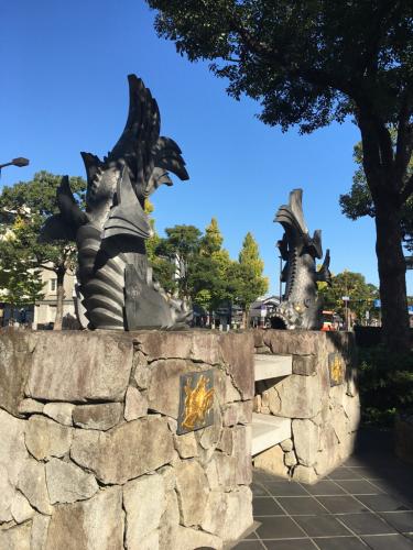 ギャッベ展in姫路市民会館の駐車場^_−☆_a0071934_07211487.jpg