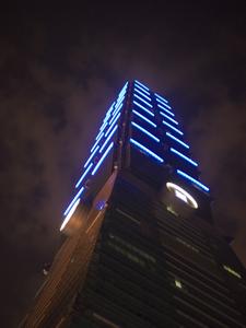 はじめての台湾*14 イヴの夜の台北101展望台_e0359436_23223353.jpg