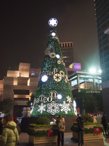 はじめての台湾*14 イヴの夜の台北101展望台_e0359436_23223420.jpg