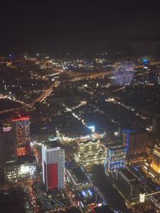 はじめての台湾*14 イヴの夜の台北101展望台_e0359436_23223536.jpg