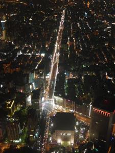 はじめての台湾*14 イヴの夜の台北101展望台_e0359436_23223549.jpg