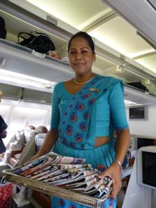 スリランカ*3 スリランカ航空ビジネスクラスの機内食はベジタリアンで_e0359436_23340829.jpg