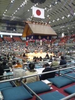 大相撲春場所なう_e0359436_23362664.jpg