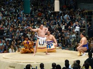 はじめての大相撲 春場所14日目_e0359436_23362919.jpg