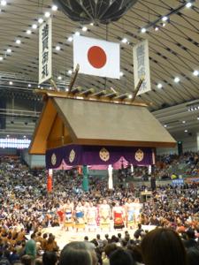 はじめての大相撲 春場所14日目_e0359436_23362975.jpg
