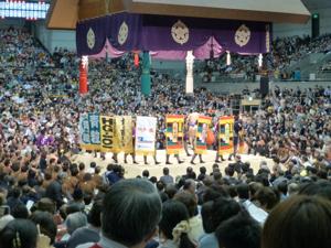 はじめての大相撲 春場所14日目_e0359436_23363043.jpg