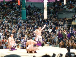 はじめての大相撲 春場所14日目_e0359436_23363062.jpg