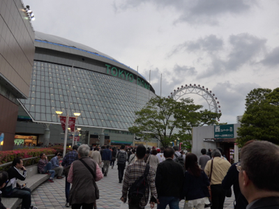 GW東京*東京ドームで野球観戦_e0359436_23561964.jpg