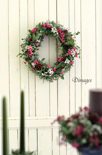 オーバルクリスマスリース♪_d0167088_5422954.jpg