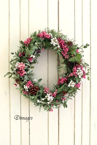オーバルクリスマスリース♪_d0167088_5474190.jpg