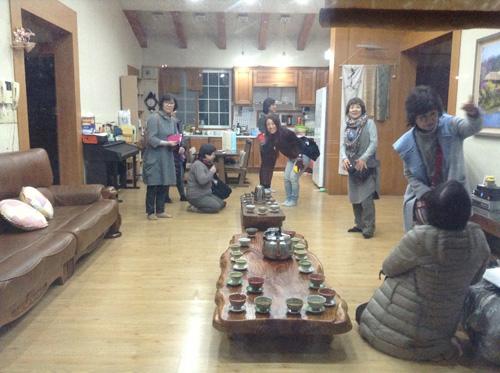 ポジャギ作家 李京玉と巡る韓国 (尚州・慶州・安東)1日目_c0185092_2432872.jpg