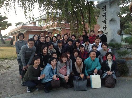 ポジャギ作家 李京玉と巡る韓国 (尚州・慶州・安東)1日目_c0185092_2442139.jpg