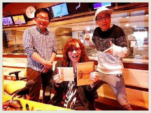 ■ 最高ぉ~ッ!NHK 『ごごラジ』出演ありがとうございました!!_b0183113_8475814.jpg