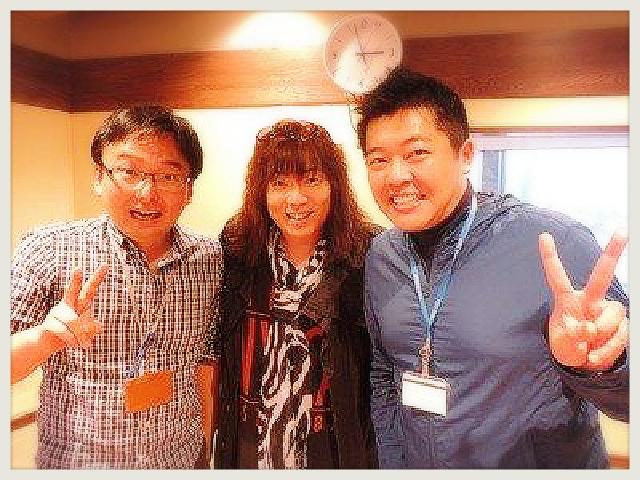 ■ 最高ぉ~ッ!NHK 『ごごラジ』出演ありがとうございました!!_b0183113_8495359.jpg