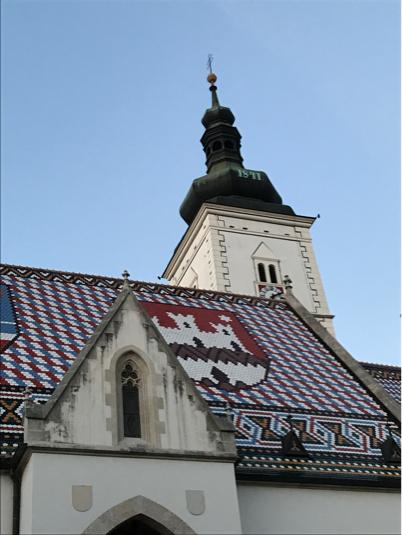 ザグレブ歩き 聖マルコ教会_a0231828_21263959.jpg