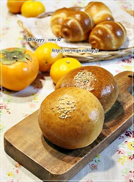 秋鮭の照焼き弁当と蟹♪_f0348032_19374458.jpg