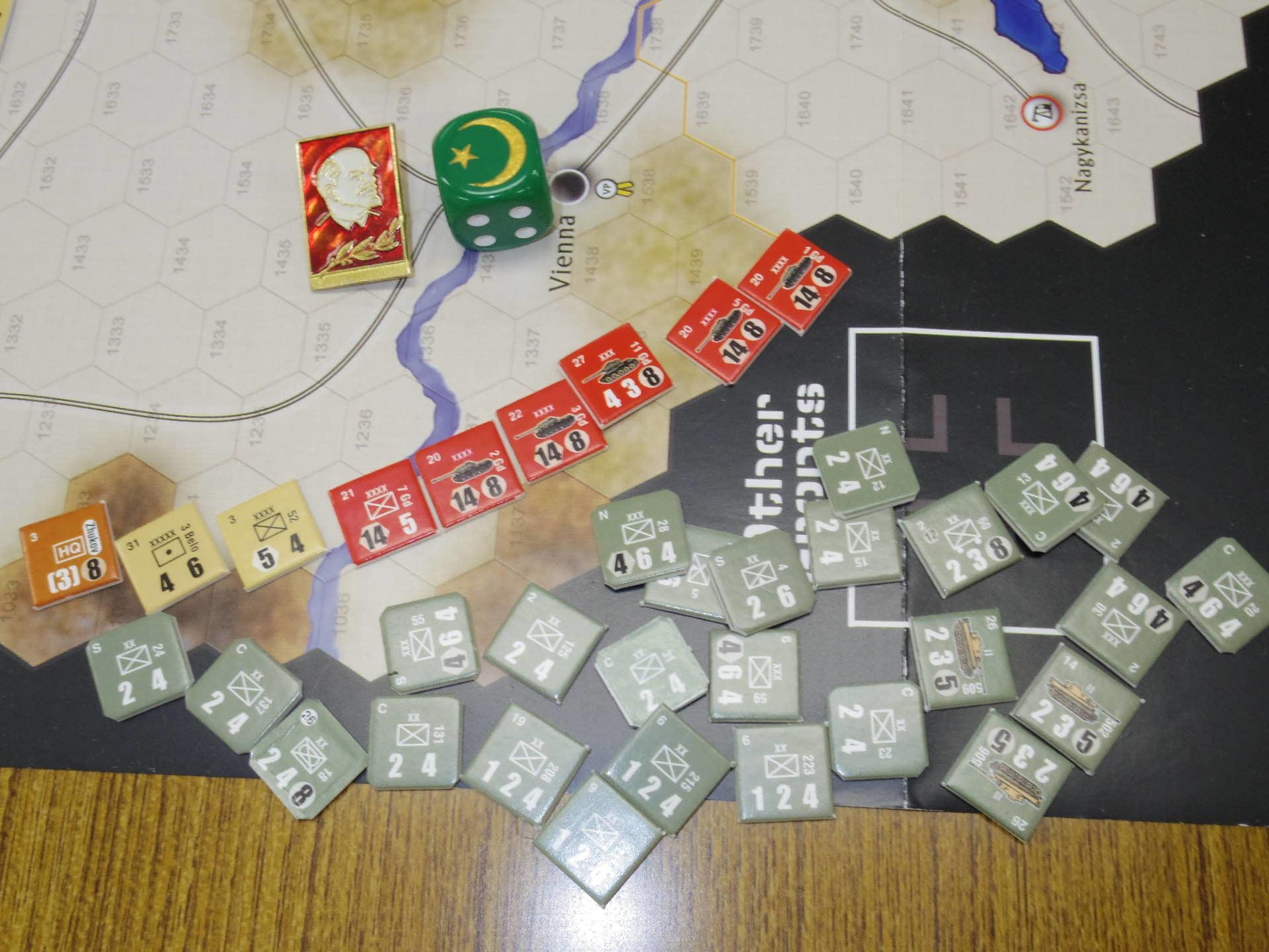 YSGA第329回定例会の様子その5〔(GMT)The Dark Valley  ダーク・ヴァレー 「バグラチオン:1944シナリオ」3人で全5ターン貫徹❶〕_b0173672_23530254.jpg