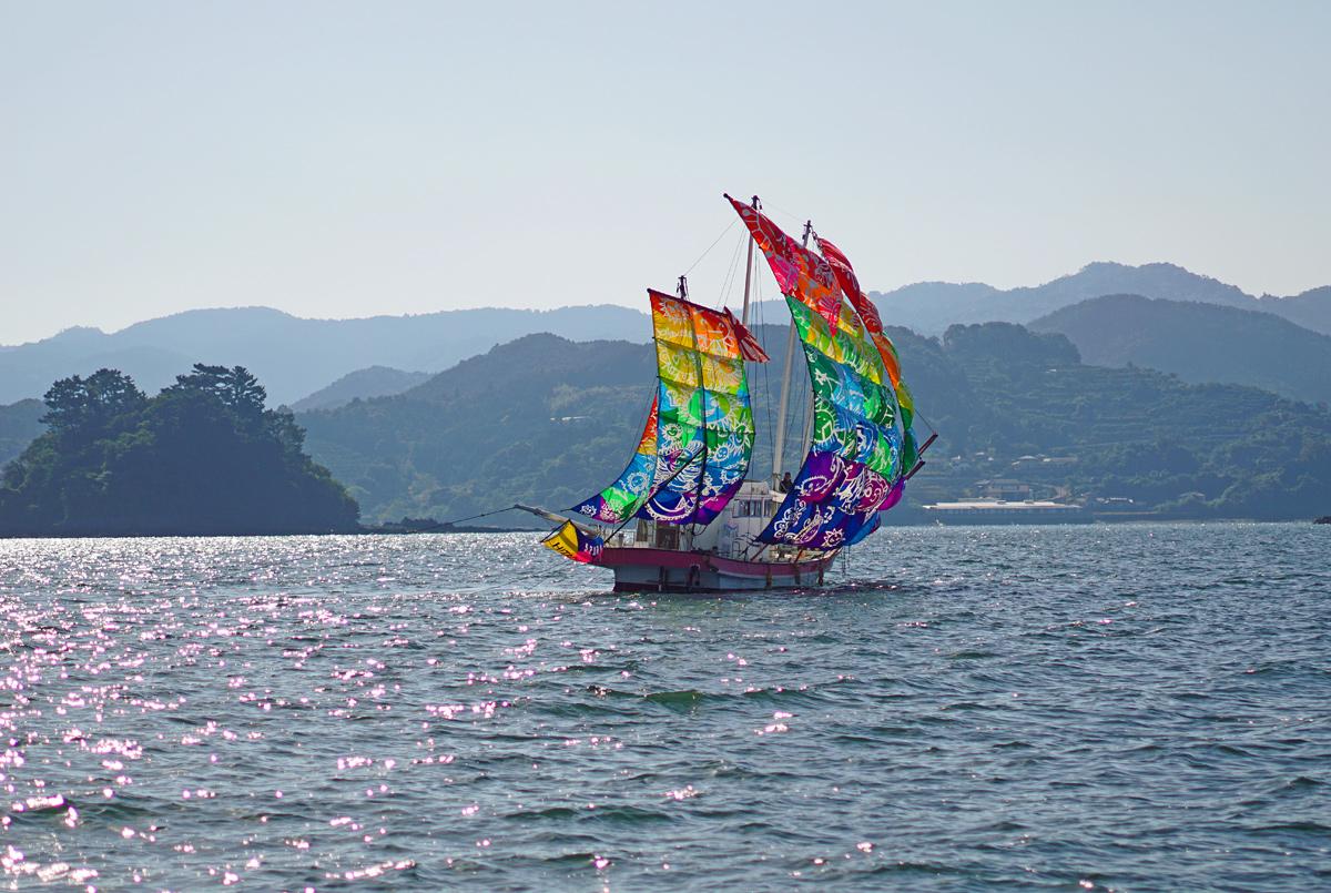 葦北うたせ船祭り。_b0044115_6552083.jpg