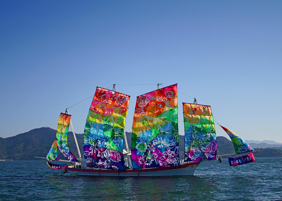 葦北うたせ船祭り。_b0044115_6555399.jpg