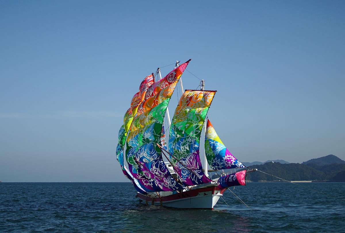 葦北うたせ船祭り。_b0044115_6561210.jpg
